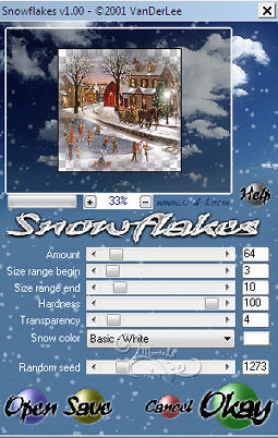 48- Effet VDL Adrenaline snowflakes